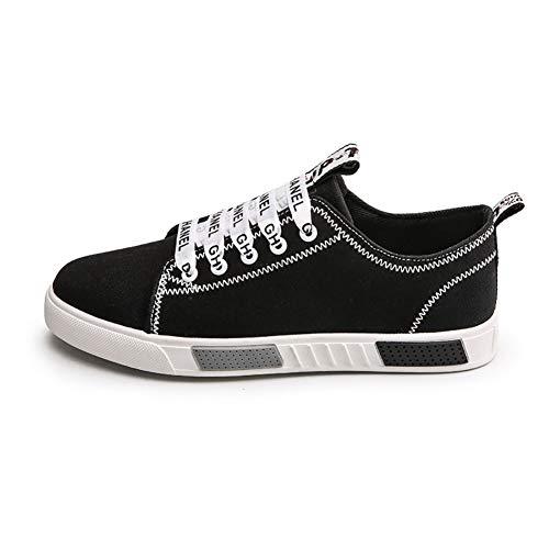 GAOJUAN Zapatos De Lona De Los Hombres Zapatos Planos Cómodos Ligeros Y Lisos Zapatillas De Deporte Alpargatas Comfort: Amazon.es: Ropa y accesorios