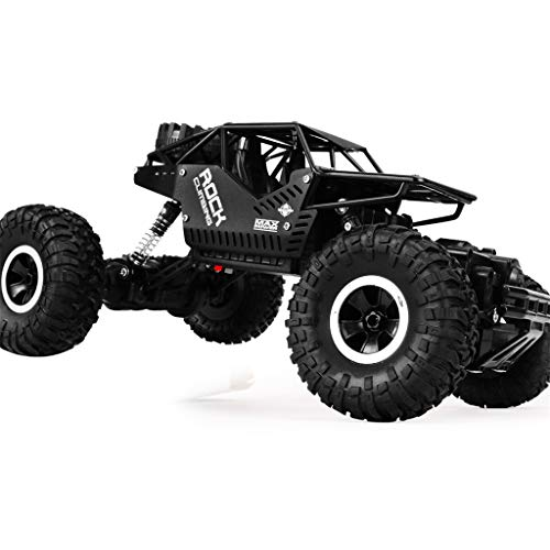 DDLmax Remote Control Car, 1/16 Four-Wheel Drive Alloy Off-Road Remote-Controlled Climbing Car LH-C008S by DDLmax (Image #3)