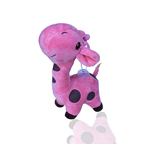 Treasure Island Toys Cute Vibrant Baby Giraffe Soft Plush Stuffed Colorful Kids Toy ()