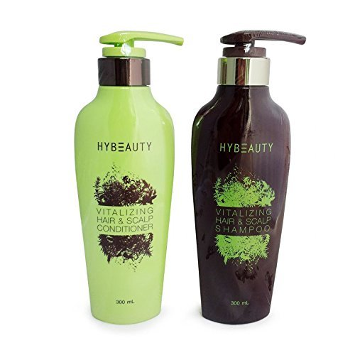 Set of Hybeauty Vitalizing Hair & Scalp Shampoo & Conditioner 300 ml.