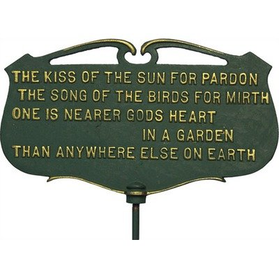 The 8 best garden plaques