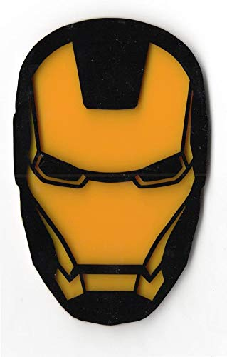 The Logo Man Iron Man 3D Car Bike Sticker Logo Decal Emblem