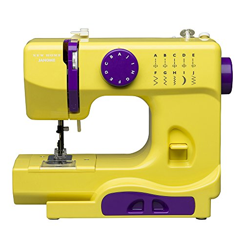 Janome Fastlane Fuschia Basic, Easy-to-Use, 10-Stitch ...