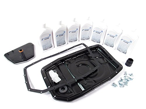 (Transmission Filter Service Kit with Upgraded Premium Components and Easier Installation for Land Rover LR3, LR4, Range Rover, and Range Rover Sport)