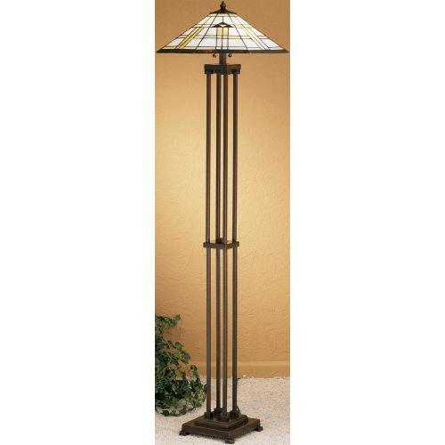 Meyda Tiffany 31240 Stained Glass/Tiffany Floor Lamp from the Arrowhead Missio, Tiffany (Arrowhead Mission Floor Lamp)