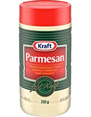 Kraft Grated Parmesan Cheese, 250g Shaker (Pack of 12)