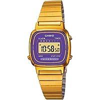 1a81e2782b3 Relógio Casio Vintage La670wga-6df + Calendário e Alarme