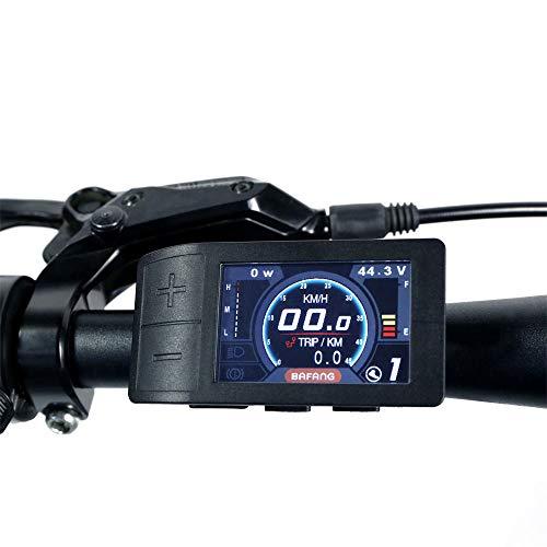 BAFANG Mini Color Display 500C for 8fun BBS01 BBS02 BBSHD Mid Crank Motor Conversion Kit E-Bike Speedometer Controller