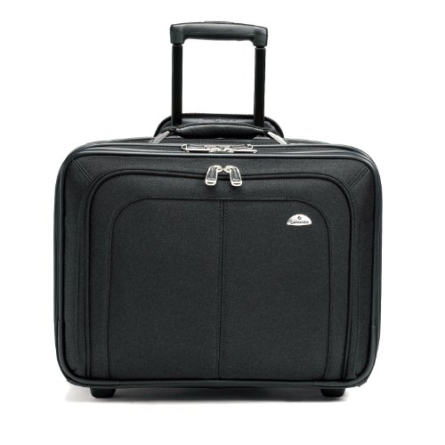 Samsonite 11021 Business One Mobile Office (Black) (Rolling Samsonite Case Ballistic Notebook)