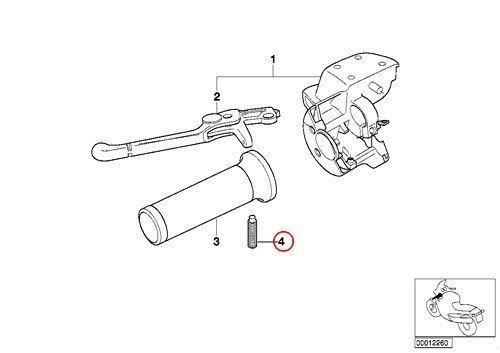 Amazon Com 2 X Bmw Genuine Motorcycle Clutch Handle Bar Self