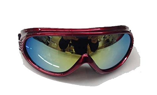 Youth KIDS Snowboarding Skiing GOGGLES Sunglasses Anti Fog Frame ATV - Sky Glasses Diving
