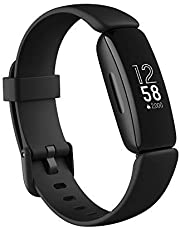 Fitbit Inspire 2 fitnesstracker met gratis jaarabonnement op Fitbit Premium, continue hartslagmeting, activiteitsregistratie en slaapherkenning, tot 10 dagen batterijduur