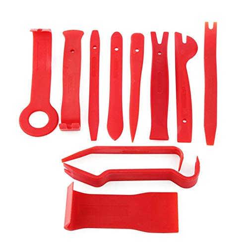 ouying1418 11pcs//Set Plastic Pry Tool Trim Dashboard Door Clip Panel Removal Installer