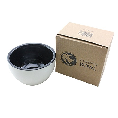 Rhinowares Coffee Cupping Bowl Black - Vital when purchasing coffee beans.