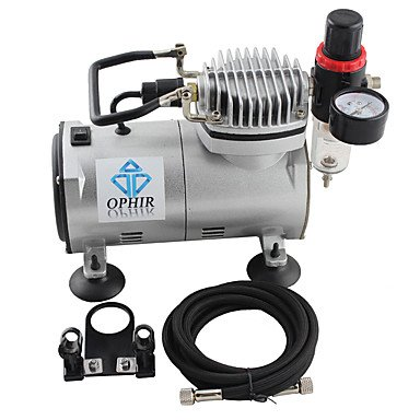 110V,220V Dual Action Airbrush Compressor Kit for Airbrushing Tattoo Hobby Cake Decoration , 110v by HJLHYL (Image #2)