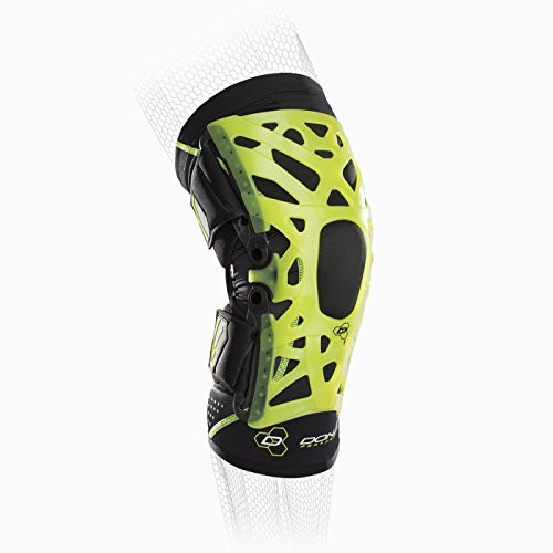 DonJoy Performance WEBTECH Knee Support Brace with Compression Undersleeve: Slime Green, ()