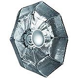 Linkstar QSSR-85X/S bol beauté pliable argent 85cm (monture Bowens/Linkstar)