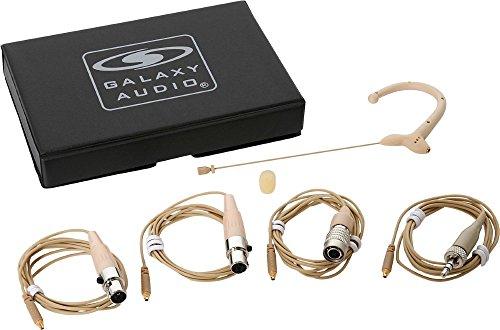 Galaxy Audio Wireless Headset Microphone ESM3OBG4MIXED