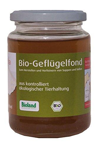 Gut Krauscha Bio Geflügelfond, 2er Pack (2 x 320 g)