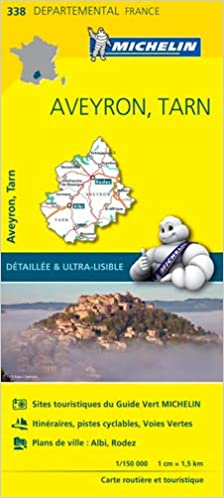 Amazon Fr Carte Aveyron Tarn Michelin Michelin Livres