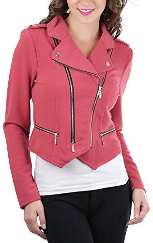 Zip Moto Jacket - 3