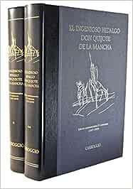 El Ingenioso Hidalgo Don Quijote de la Mancha. 2 tomos