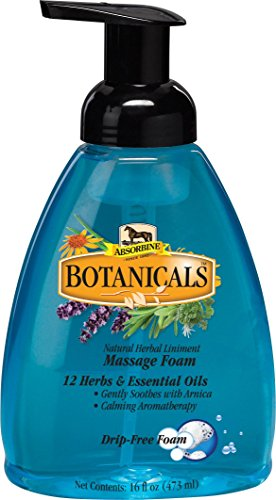 W F YOUNG INC Absorbine Botanicals Drip-Free Massage Foam 16 OUNCE from WF Young
