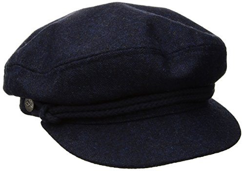Brixton Men's Fiddler Greek Fisherman Hat, Washed Navy/Navy, X-Large (Cap Greek Fisherman)