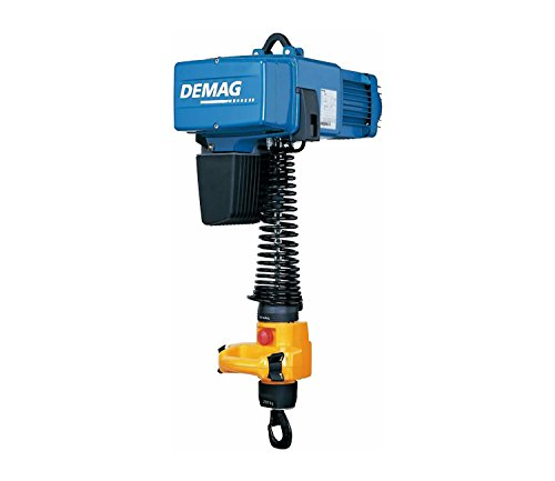Demag 93201146 Manulift Electric Chain Hoist, 550 lbs Capacity, 14' Lift Height, 32/8 FPM Lift Speed, 230V