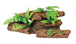 Marina Naturals Malaysian Driftwood with Plants, Extra Large