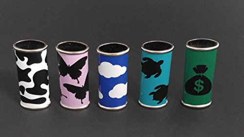 BIC Lighter Cover Metal CUSTOM Vinyl Wrapped - Many Colors and Designs by Custom Cuts and Creations LLC