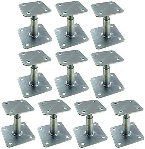 Simpson - 10 patas de poste ajustable APB100/150: Amazon.es: Bricolaje y herramientas