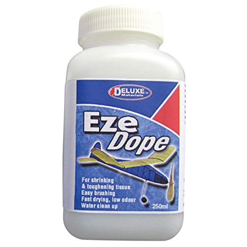 DELUXE MATERIALS DLMBD42 Eze Dope, Tissue Shrink, 250ml ()