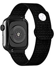 Adepoy Compatible for Apple Watch Band 38mm 40mm 42mm 44mm, Premium Nylon Wristbands Compatible with iWatch Series 5/4/3/2/1