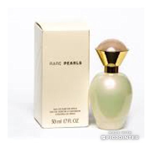 Avon Rare Pearls Eau De Parfum Spray 1.7 fl oz Old Bottle (box has imperfections)