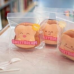 Sandwich Plush | 3 Mini Plush - Hazelnut - Peanut Butter - Jelly  | Sweet Breads Plushies 11
