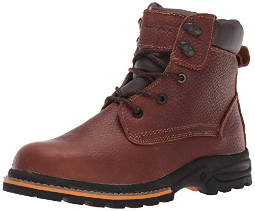 AdTec Men's 6in Work Boots Oiled Leather, Brown, 10.5 M US
