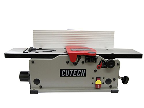 Cutech 40160HC-CT 6'' Bench Top Spiral Cutterhead Jointer with Carbide Tips by Cutech Tool LLC