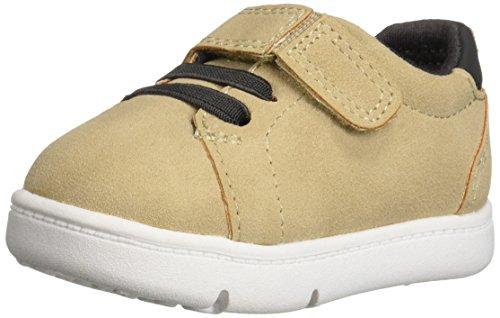 Carter's Every Step Park2-BP Baby Boy's Walking Casual Sneaker, Khaki, 3 Medium US Infant