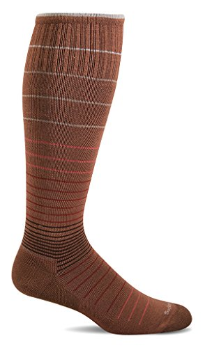 Sockwell Women's Circulator Graduated Compression Socks, Terracotta, -