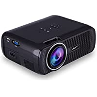 Uhappy U80 Portable Home Theater 1080P LED HD Mini Digital Projector, Support HDMI, VGA, USB