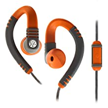 Yurbuds Explore Talk Gray/Orange Running Headphones
