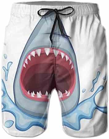 SEXTDSFD Bandage Mens Running Casual Short Beach Pants Swim Trunks Drawstring Board Shorts Swimwear