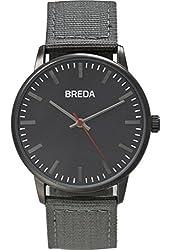 Breda Boy's Quartz Metal and Nylon Watch, Color:Gunmetal/Gray (Model: 1707A)