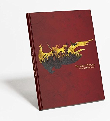 Final Fantasy 14 Storm blood The Art of Eorzea Hard Cover Book FFXIV