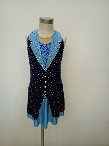 Custom Made Figure Skating Costumes (Fashion Custom Figure Skating Dresses Girls Ice Skating Competition Dresses With Crystals A2257)
