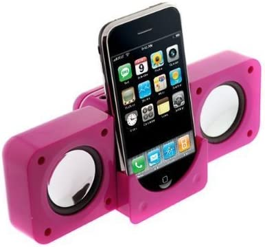 Touch Shuffle 1 2 3 4 5 Rechargeable Mini Stereo Speaker for Apple iPod Nano