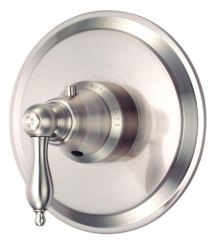 Danze D562040BNT Fairmont Single Handle 3/4-Inch Thermostatic Shower Valve Trim Kit, Valve Not Included, Brushed Nickel Danze Fairmont Shower Valve