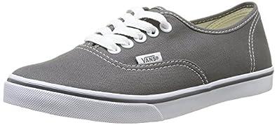 Vans Unisex Authentic Lo Pro Skate Shoe Pewter