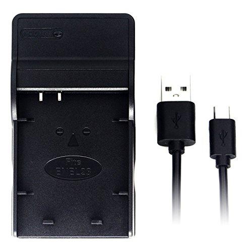 EN-EL23 Ultra Slim USB Charger for Nikon Coolpix P600, Coolpix P610, Coolpix P900 Camera Battery (Coolpix P600)